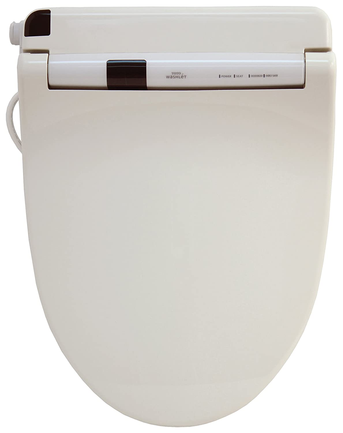 TOTO SW554-01 Washlet S300 Elongated Front Toilet Seat, Cotton White ...