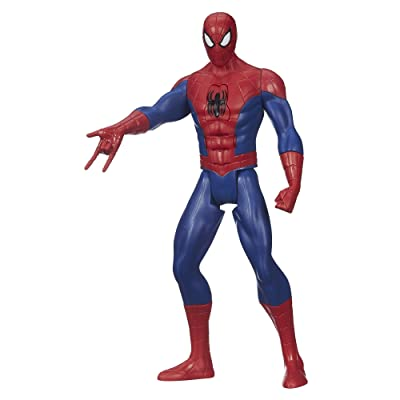 Marvel Ultimate Spider-Man Web Warriors Titan Hero Tech Electronic Spider-Man 12-Inch Figure: Toys & Games