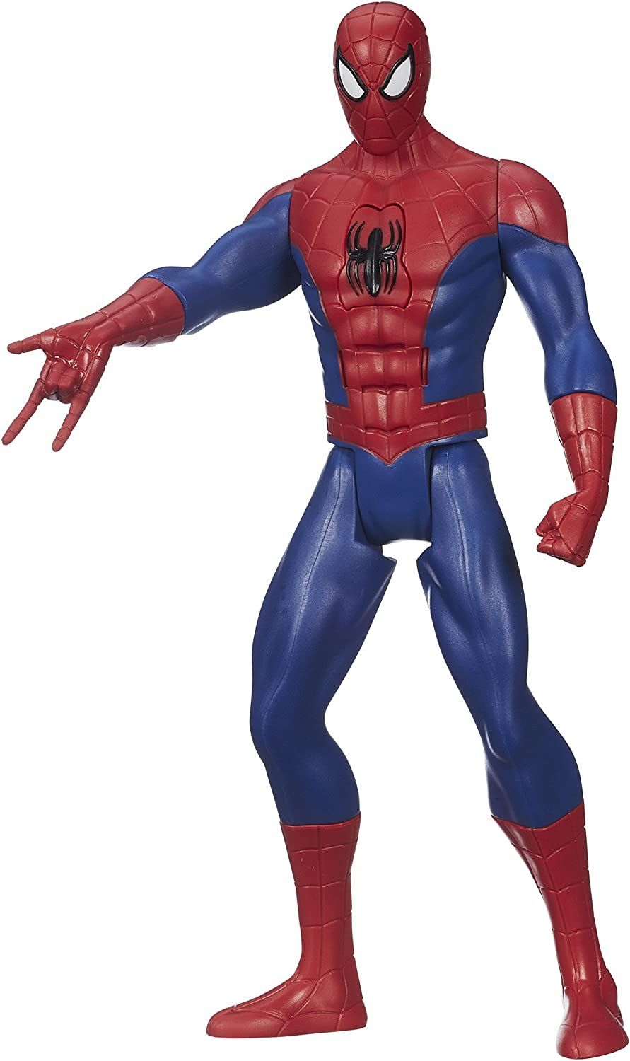 Marvel Ultimate Spider-Man Web Warriors Titan Hero Tech Electronic Spider-Man 12-Inch Figure