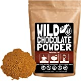 Organic Raw Cocoa Powder, Wild Dark Chocolate Powder, Handcrafted, Single-Origin, Fair Trade, Organically Grown Non-Alkalized Cacao from South American Cocoa beans (8 ounce)