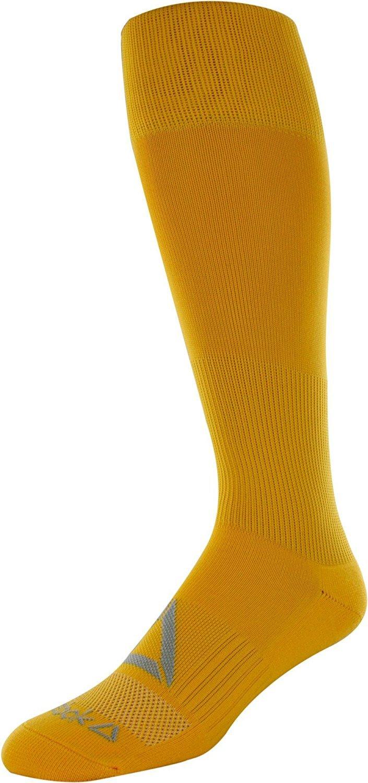 リーボックすべてのスポーツアスレチックKnee High Socks B075Z2HSTX Medium|ゴールド ゴールド Medium