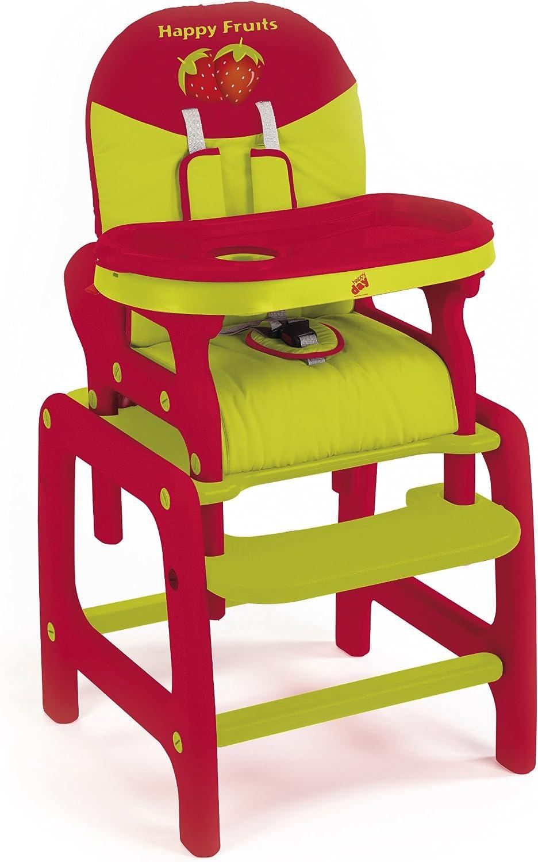 Trona convertible en mesa y silla, medidas: 056 x 072 x 105 ...