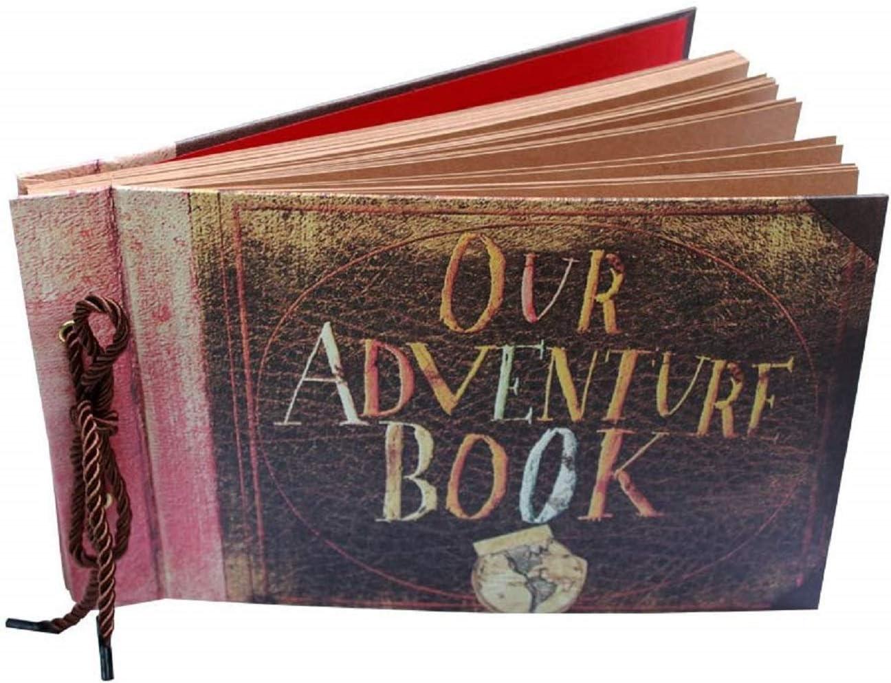 Our Adventure Book Pixar Up Handmade DIY Family Scrapbook Photo Album