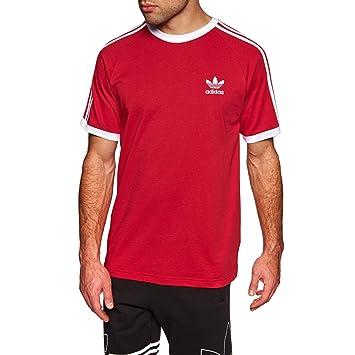 adidas 3 Stripes Tee T Shirt, Herren, grün (VERTRA): Amazon