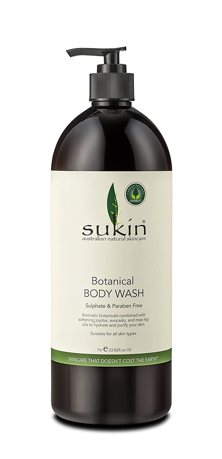 Sukin Botanical Body Wash 1 litre BWX PTY LTD SBWLP