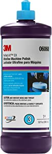3M 06068 1 Quart Perfect-It Ultrafine Machine Polish- For Paint Finishing on Cars, Trucks, Boats and RVs