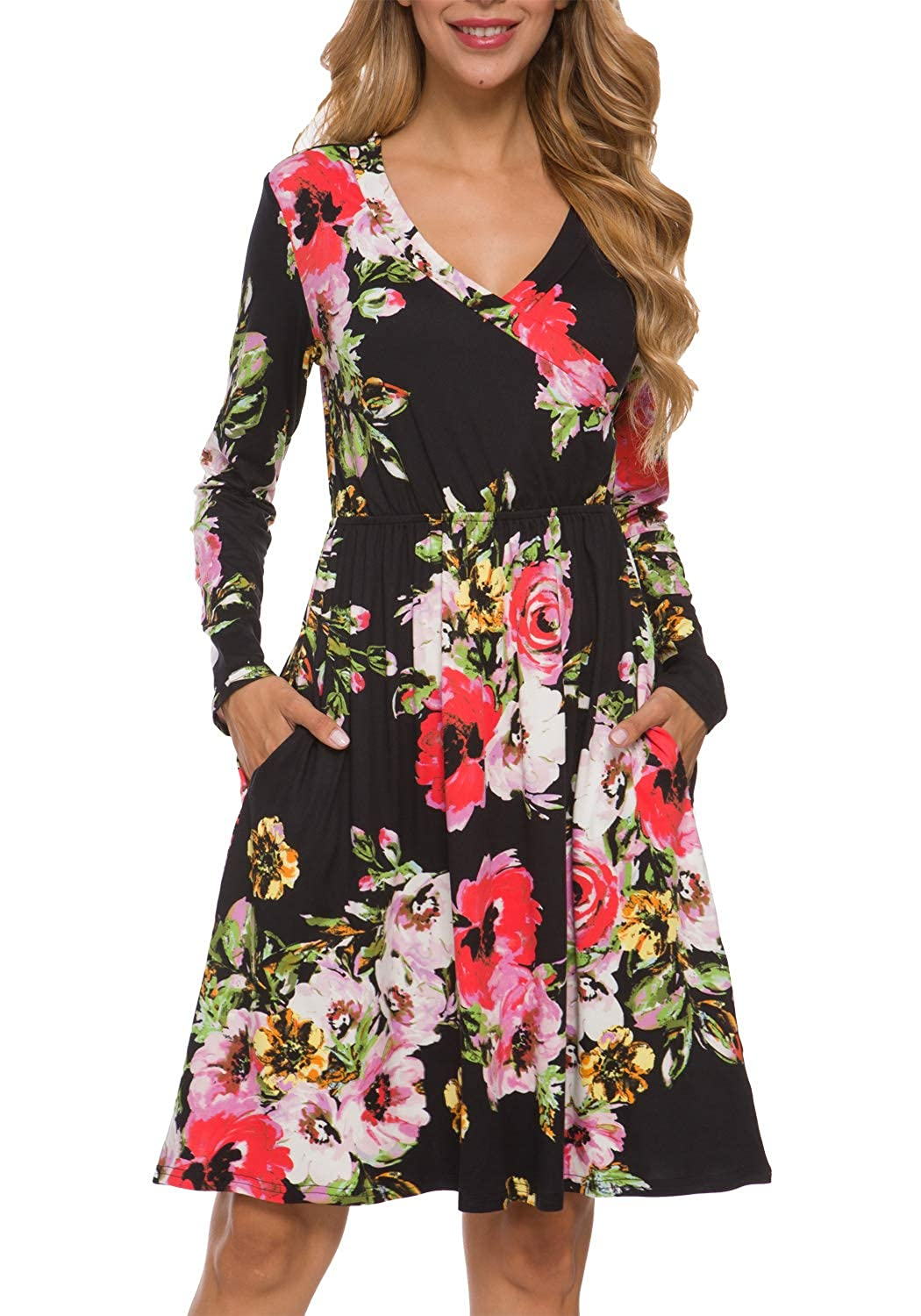 LAINAB Women's Floral Fall...