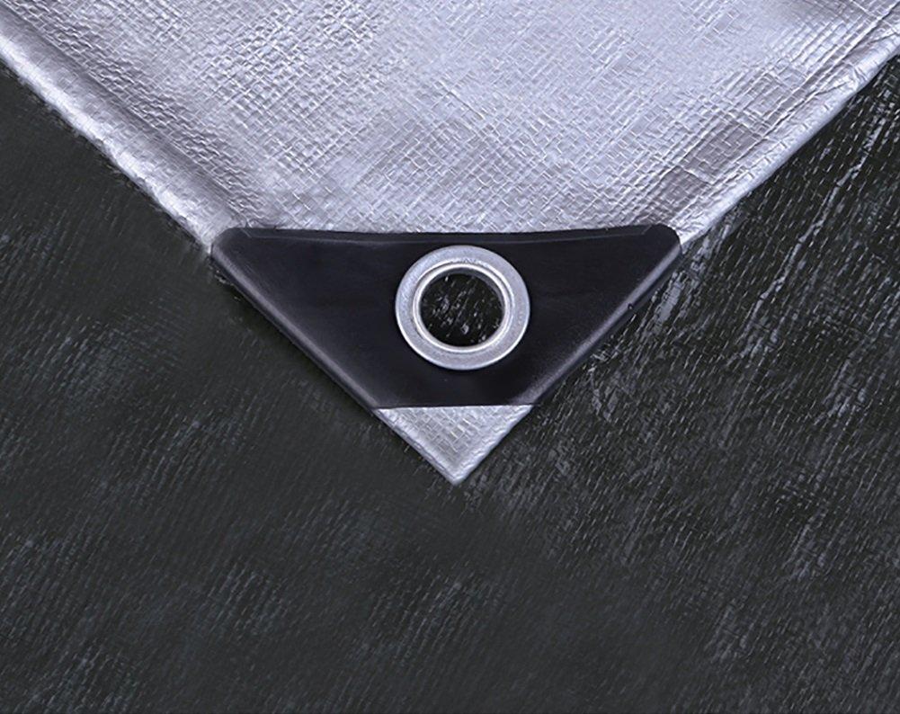 YY-ZP YY-ZP YY-ZP Addensare Telo Impermeabile Telo Impermeabile Telo Impermeabile Telo Impermeabile Telo Grigio Stoffa, 200 G M² (Dimensioni   6x6m) | Outlet  | A Basso Prezzo  b9b666