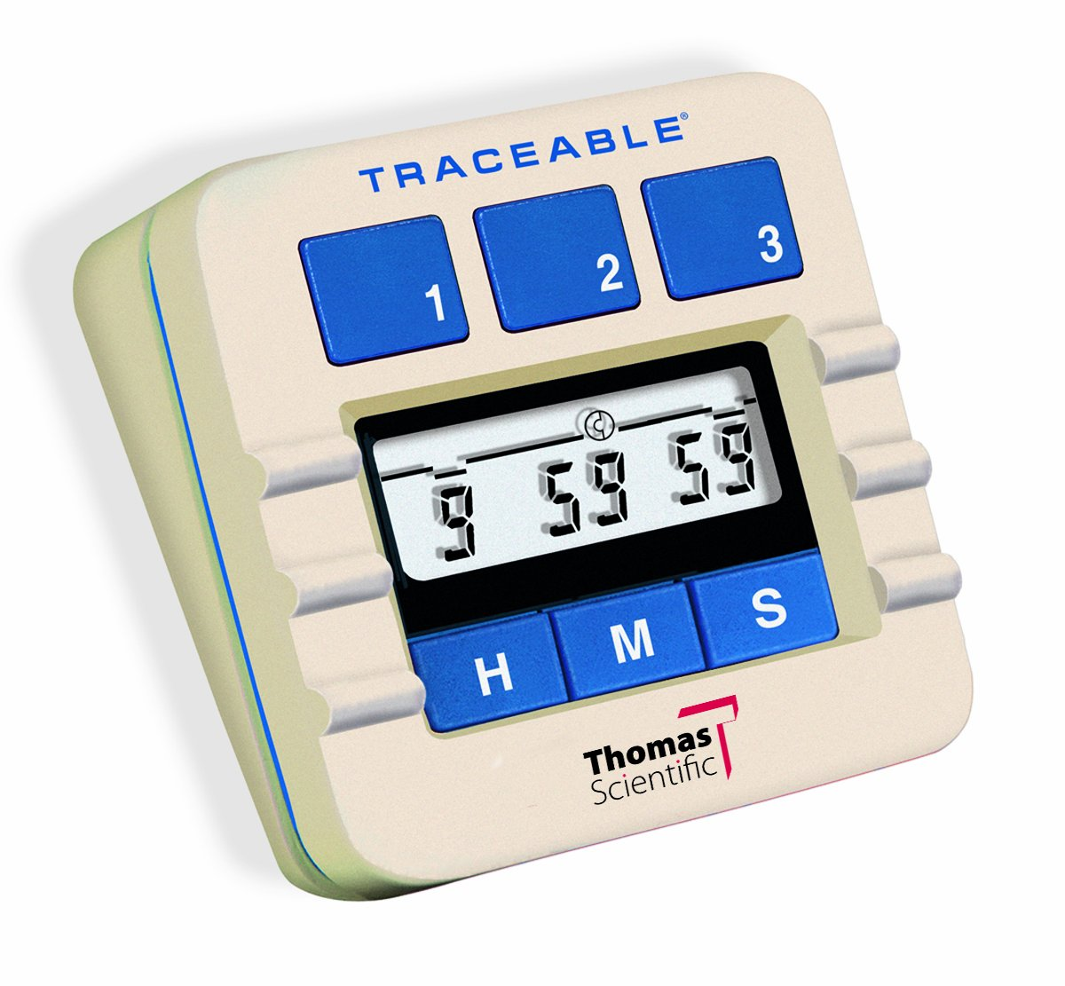 Thomas 5002 Original Traceable Lab Timer, 0.01 Percent Accuracy, 3'' Width x 3'' Height x 1-3/8'' Depth