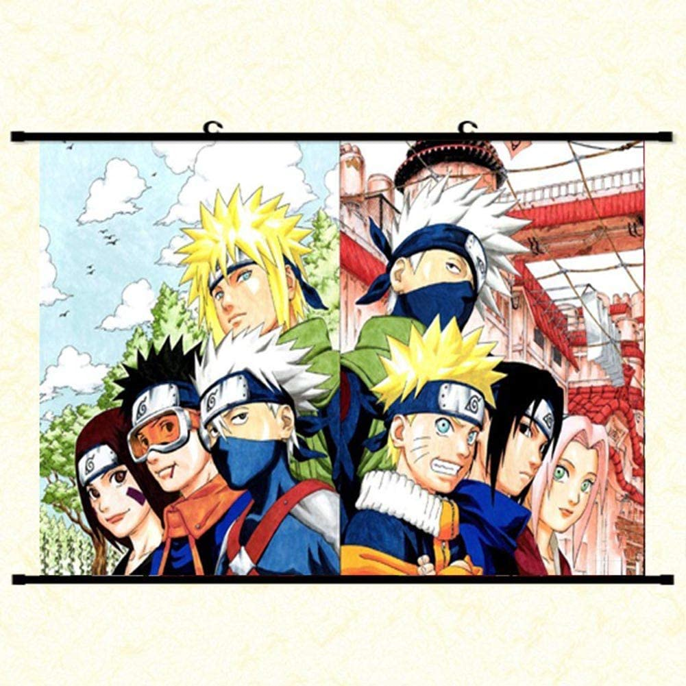 Art Art Posters Poster anime Naruto and Sasuke Art zsco.iq