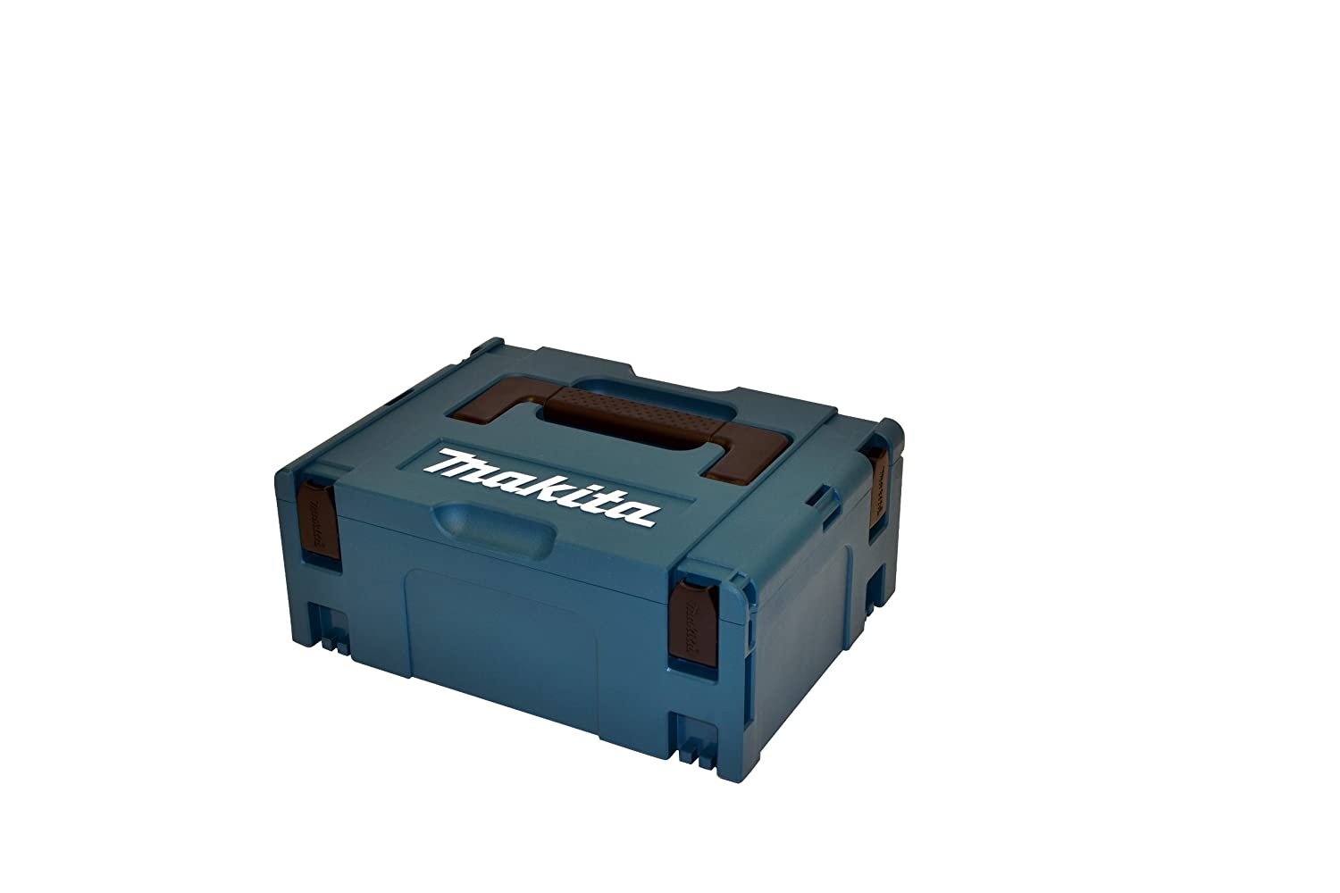 Makita DGA452RMJ 18 V Li-ion LXT 115 mm Angle Grinder Complete with 2 x 4.0 Ah Li-ion Batteries and Charger in a Makpac Case