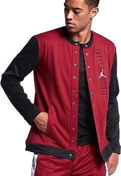 Nike Air Jordan Basketball II Veste pour Homme Rouge Noir