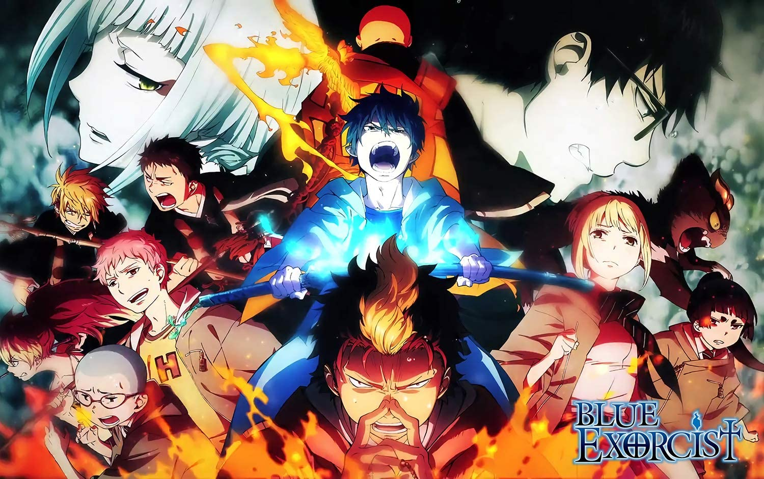 """Blue Exorcist Anime Poster and Prints Unframed Wall Art Gifts Decor 12x18"""""""