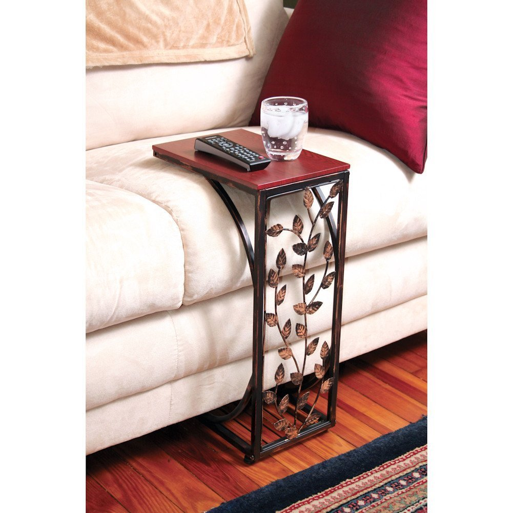 Etna Sofa Side Table (Black) - Amazon.com: Tables - Living Room Furniture: Home & Kitchen: Coffee