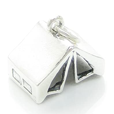 Tent sterling silver charm .925 x 1 Tents C&ing Adventure charms CF427  sc 1 st  Amazon UK & Tent sterling silver charm .925 x 1 Tents Camping Adventure charms ...