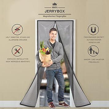 Hervorragend Jerrybox Fliegengitter Tür Fliegenvorhang Fliegenschutz  WO13