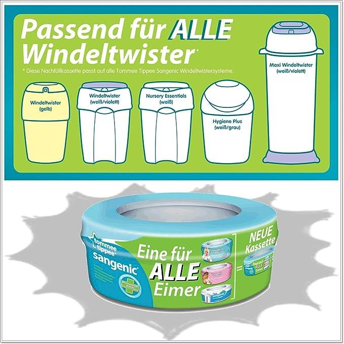 Tommee Tippee Nachfüllkassetten für Sangenic Windeltwister MK3 //MK4//MK5 NEU