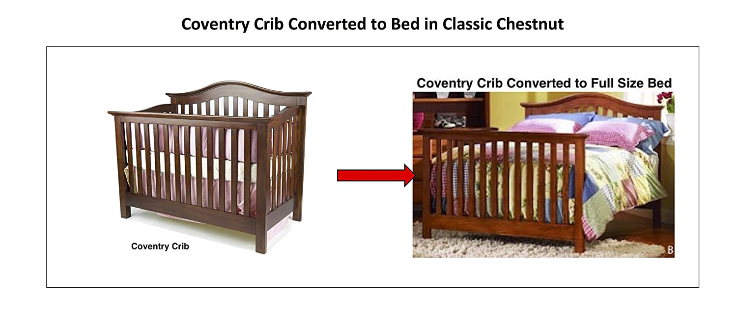 Amazoncom Full Size Conversion Kit Bed Rails For Munire Cribs
