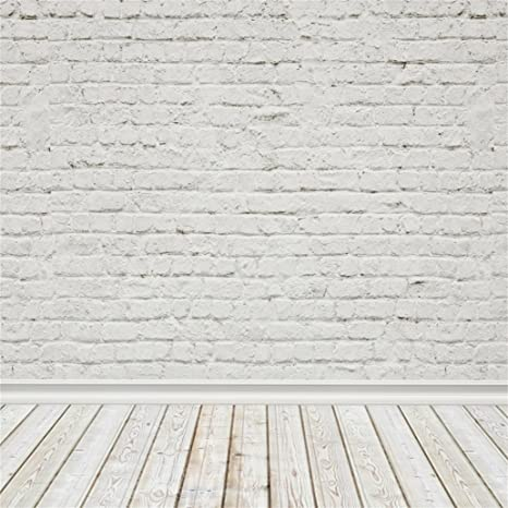 amazon com aofoto 8x8ft whitewashed brick wall photography old