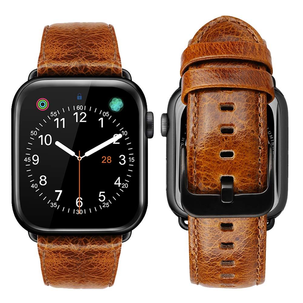 Malla Cuero Para Apple Watch (42/44mm) Ibazal [7wlxb4pd]