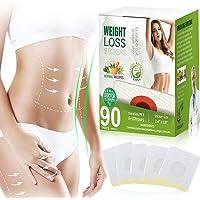 90 PCS Weight Loss Sticker,Slimming Tightening Sticker for Beer Belly, Buckets Waist, Waist Abdominal Fat
