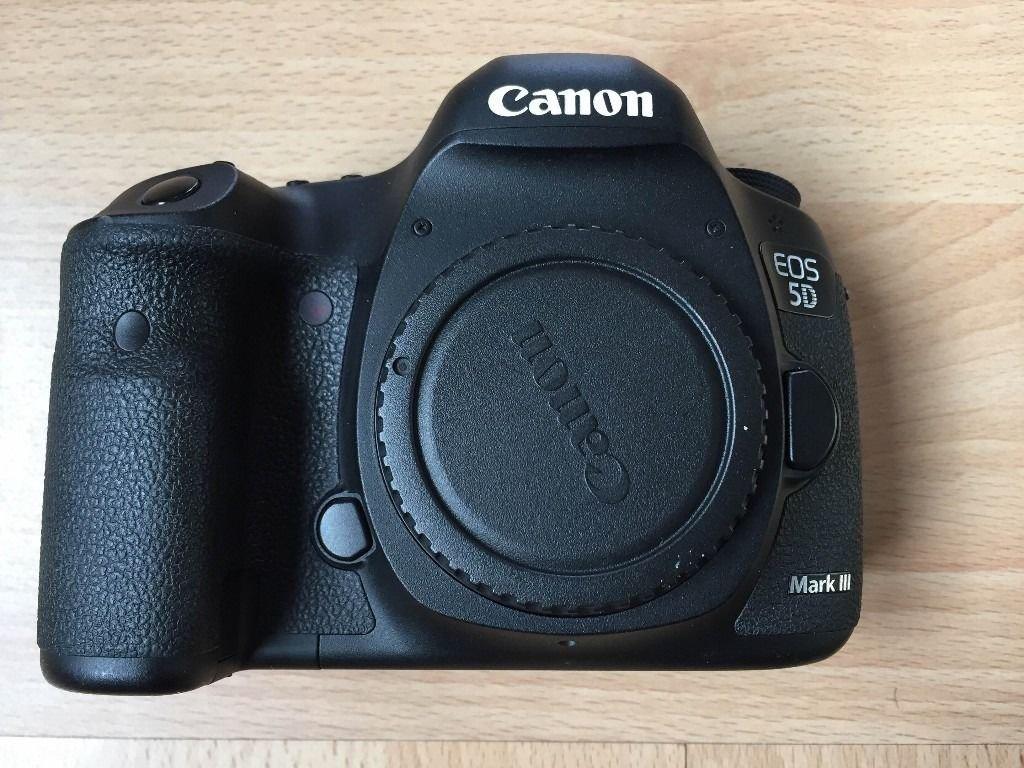 Canon EOS 5D Mark III 24 - 105 Kit Digital SLR Camera: Amazon.de ...