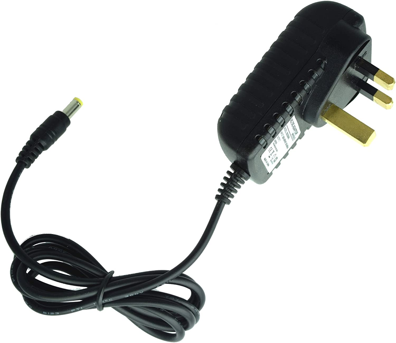 MyVolts 6V in-car Power Supply Adaptor Compatible with Icom BC-07 PSU Part