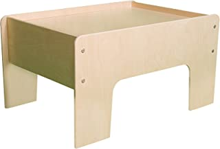 product image for Little Colorado 031NA Toddler Half Play Table, Natural