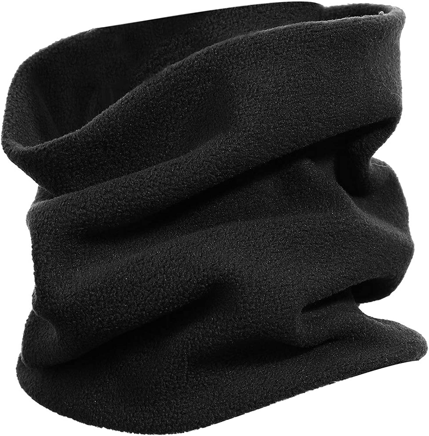 Warm Face Covering Gaiters For Kids Neck Gaiter Winter Balaclava Face Scarf Pure Deep Grey