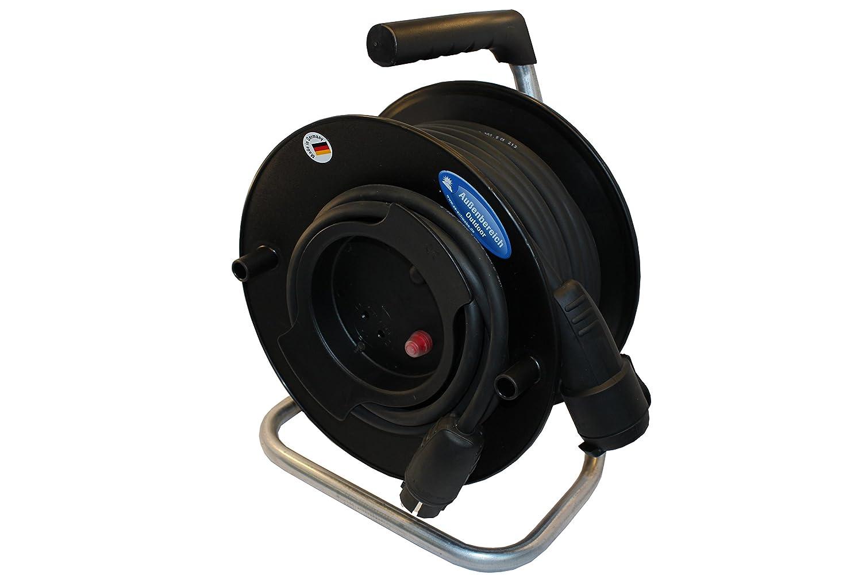 netbote24/® Profi Garten-Ger/ätetrommel Outdoor 230V//16A IP44 H07RN-F 3G 1,5mm/² verschiedene L/ängen 25-50m 25m
