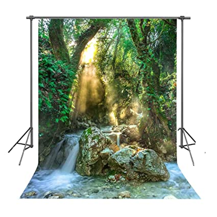 Amazon Com Fuermor Nature Forest Backdrop 5x7ft Beautiful Scenery