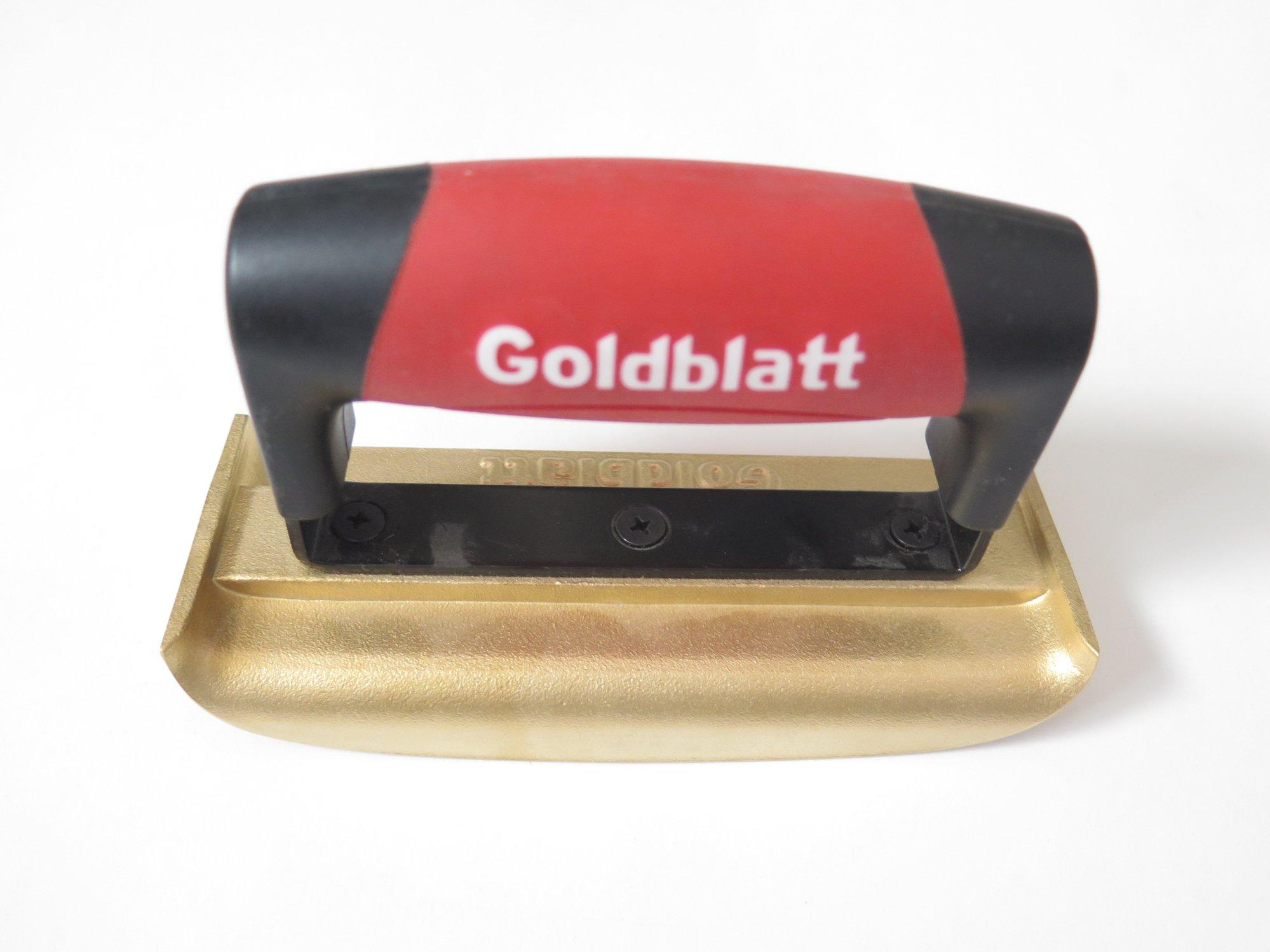 Goldblatt 6'' 2 3/16'' Bronze Edger