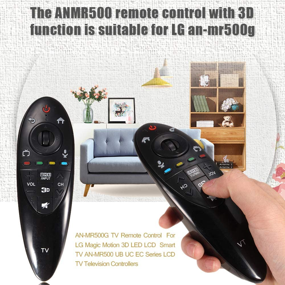 WQDWF - Mando a distancia para televisor LG Magic Motion 3D LED, LCD, Smart TV AN-MR500, UB UC EC Series: Amazon.es: Hogar