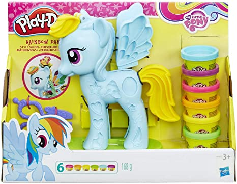 Play Doh - Rainbow Dash Style Salon (Hasbro B0011EU6)