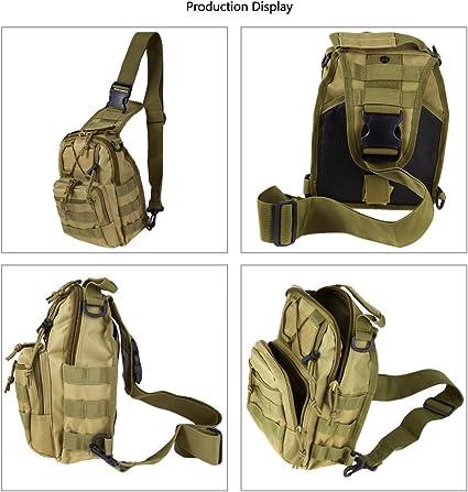 Outdoor Backpack Military Travel Tactical Backpack Shoulder Sling Trekking Bag