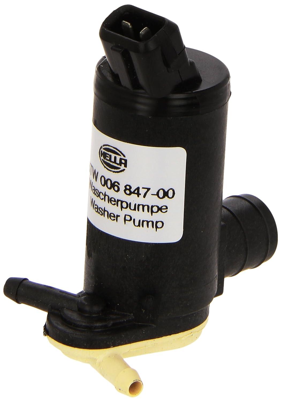 HELLA 8TW 006 847-001 Pompa acqua lavaggio Pulizia cristalli Doppia pompa