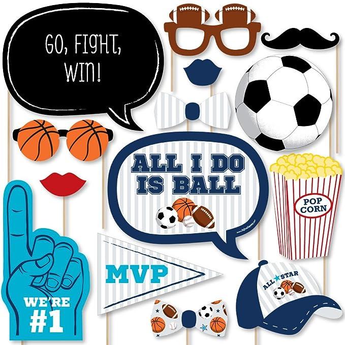 Amazon.com: GO, lucha, Win – deportes – Baby Shower o ...