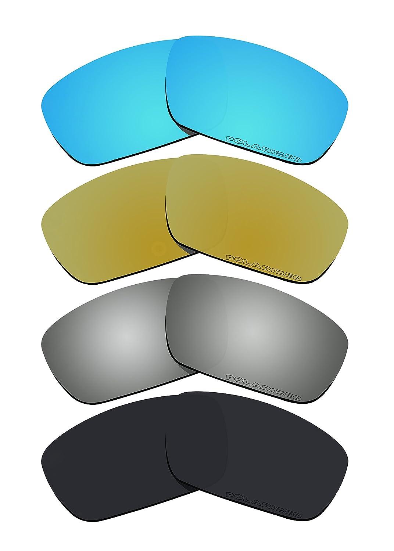 4 pares bvanq polarizadas lentes de repuesto para Oakley ...