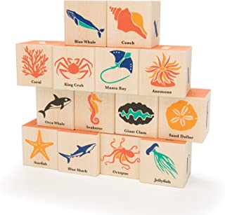 product image for Uncle Goose Ocean Blocks - Made in The USA