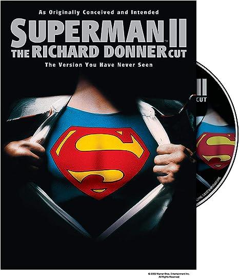 Superman II: Richard Donner Cut, The (DVD): Ilya Salkind, Pierre ...