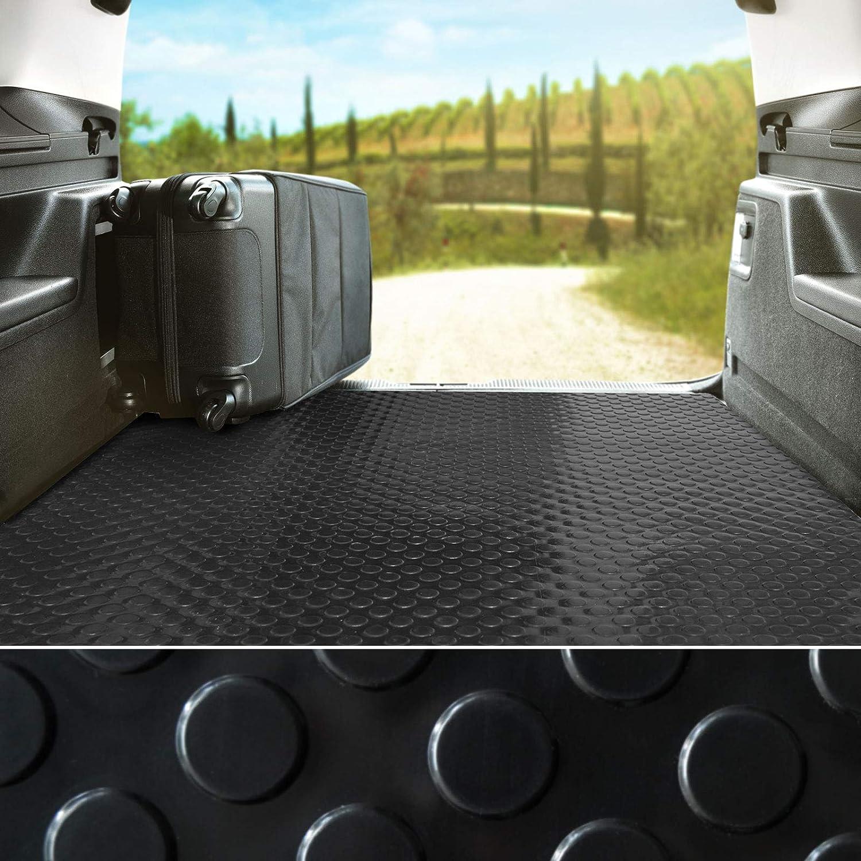 Tapis PVC Antid/érapant Coffre 120x1000 cm Tapis de Sol Pastill/é 2.2mm D/épaisseur Remorque etm Rev/êtement de Sol Garage Atelier Protection Pour Garage Etc Gris