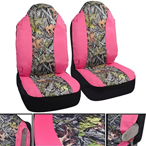 BDK Hunting Pink Camo Seat Covers