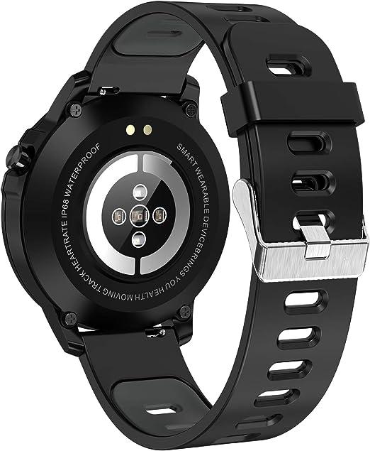 Leotec Reloj Inteligente LESW18KAMZ: Amazon.es: Relojes