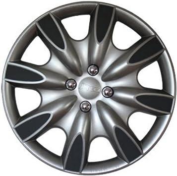 Zentimex Radkappen Radzierblenden Radabdeckungen 14 Zoll 137 Grey Grau Auto