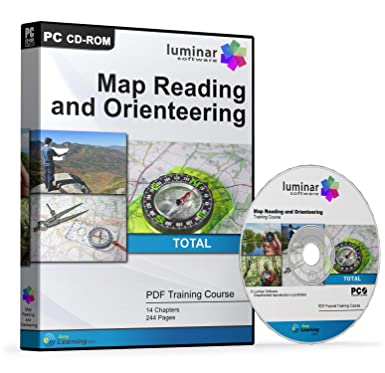 Map Reading Orienteering Land Navigation Training Course Guide Manual CD