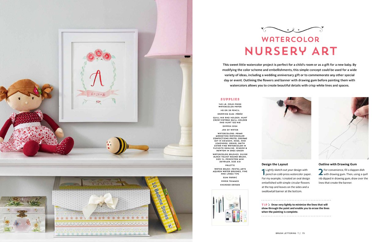 Interested in drawing English gum How to knit, learn, after reading this article