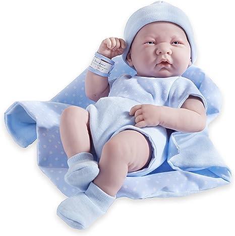 JC Toys Berenguer Boutique 14-Inch Anatomically Correct Boy Doll (9 Piece Set)