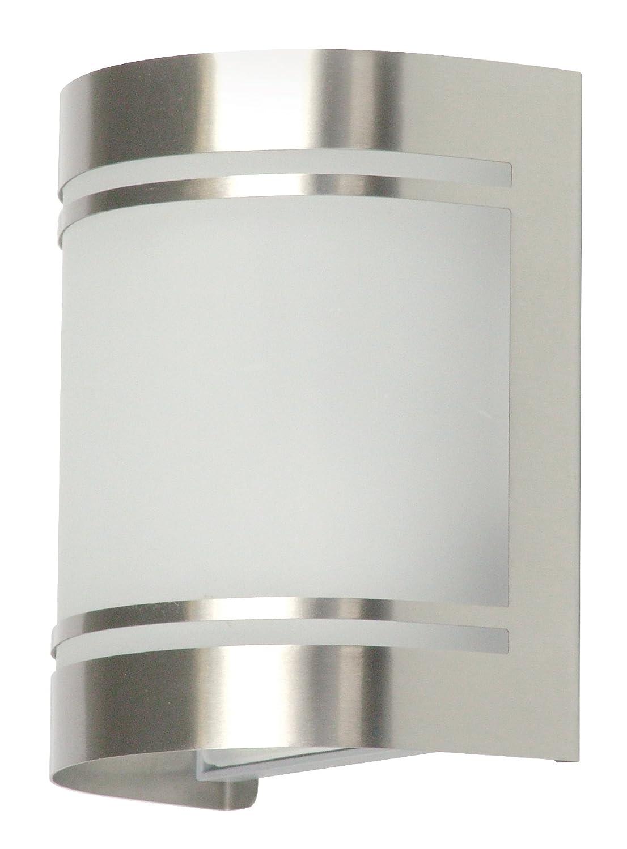 Ranex Alicante - Aplique de acero inoxidable y cristal satinado 5000.298