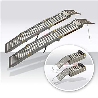 Carpoint 0410269 1 x 1,50 m portata 200 kg Rampa di accesso in acciaio