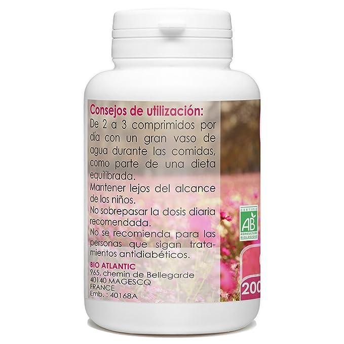 Ginseng Rojo 400mg - 200 comprimidos: Amazon.es: Salud y cuidado personal